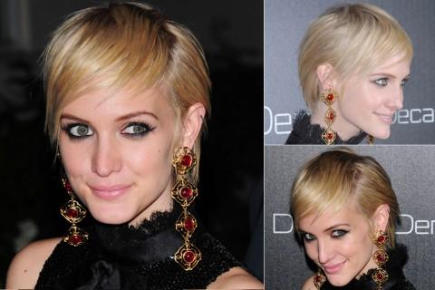 Ashlee Simpson's Short hairstyles