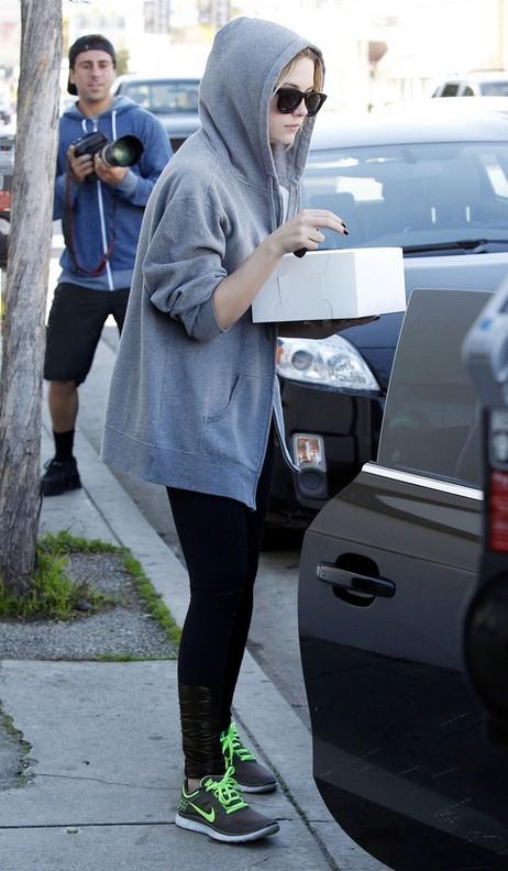 Ashley Benson's Running Shoes