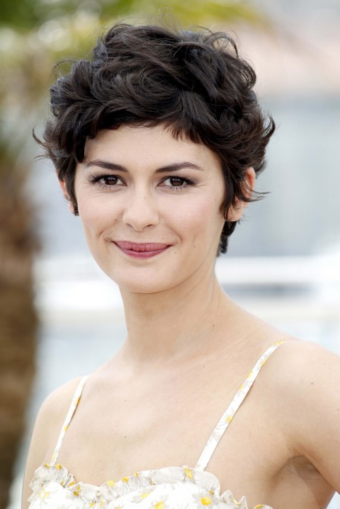Audrey-Tautou's short hairstyles