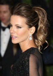 Bouffant Ponytail Updo for Ombre Hair