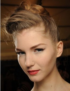 The Best Retro Topknot Hair