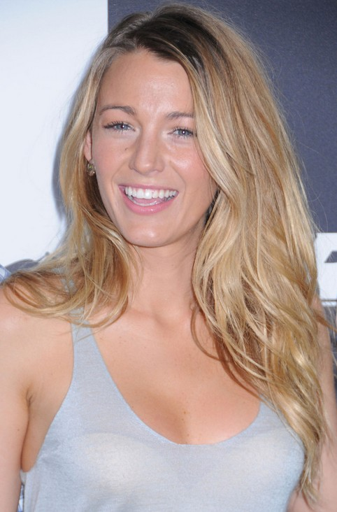Blake Lively Long Hair Style: 2014 Wavy Hair