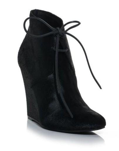 Burberry Prorsum Benton calfskin wedge ankle boots