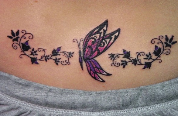 Butterfly Tattos Designs For Girls