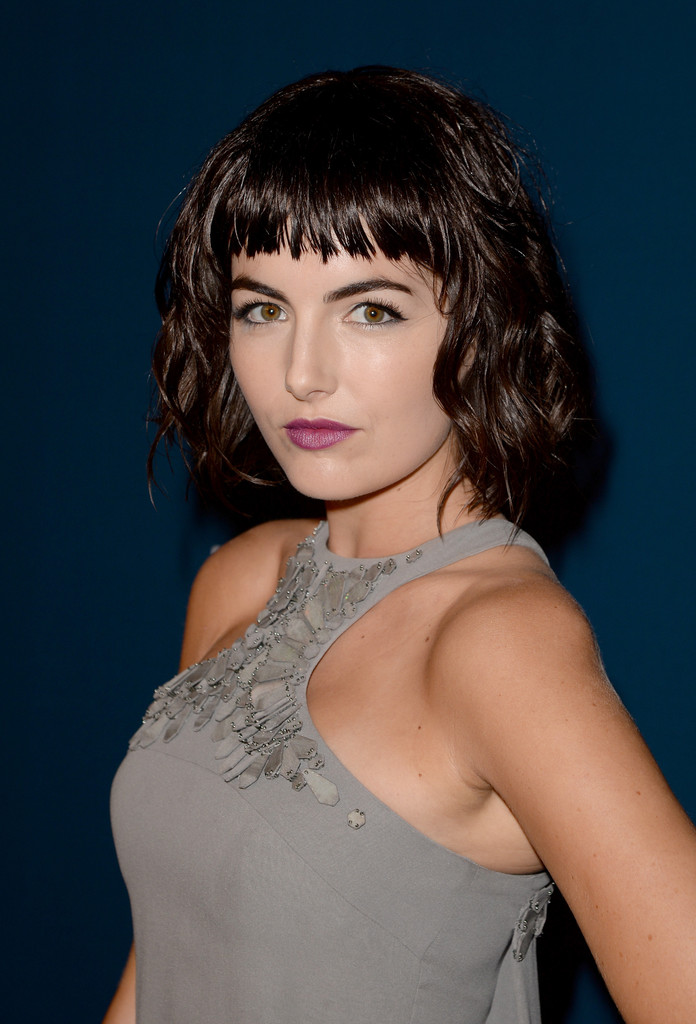 Magical Bangs:camilla Belle S Bangs For A Chic Look In