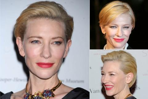 Cate Blanchett's short hairstyles