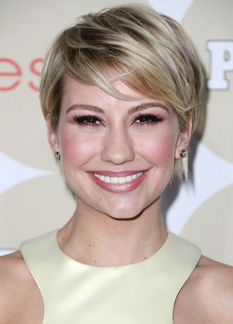 Chelsea Kane Short Haircut 2014 – Asymmetric Short Hairstyle with ...