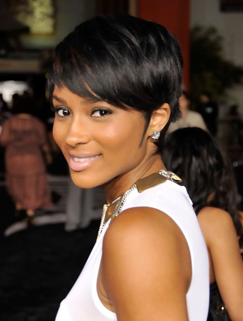 Ciara's Short Hairstyles: Very Short Hair