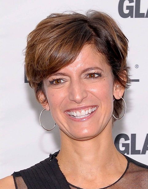 Cindi Leive's Short Hairstyles: Pixie Haircut for Women Over 50