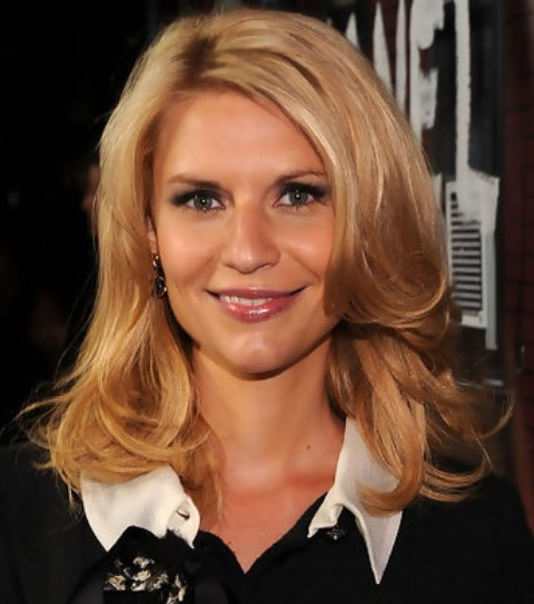 Claire Danes Hairstyles: Sophisticated Medium Layered Haircut ...