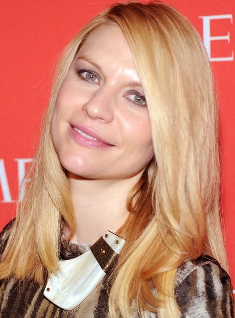 Claire DanesHairstyles: Stylish Layered Straight Haircut