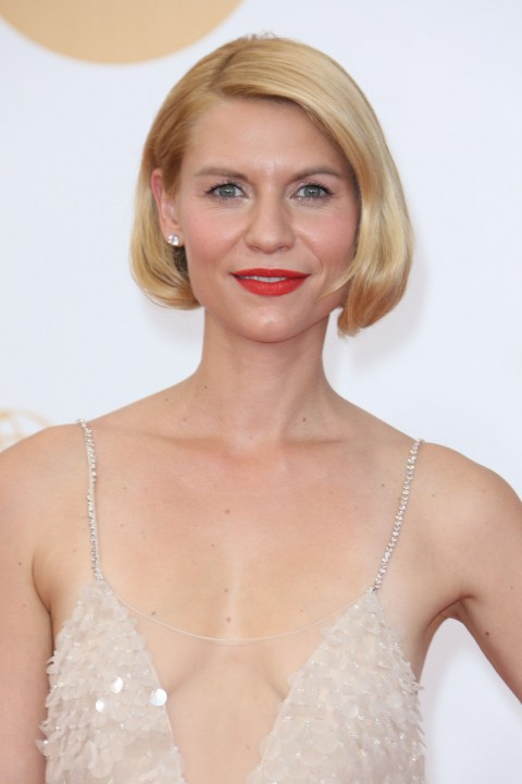 Claire Danes' short hairstyles