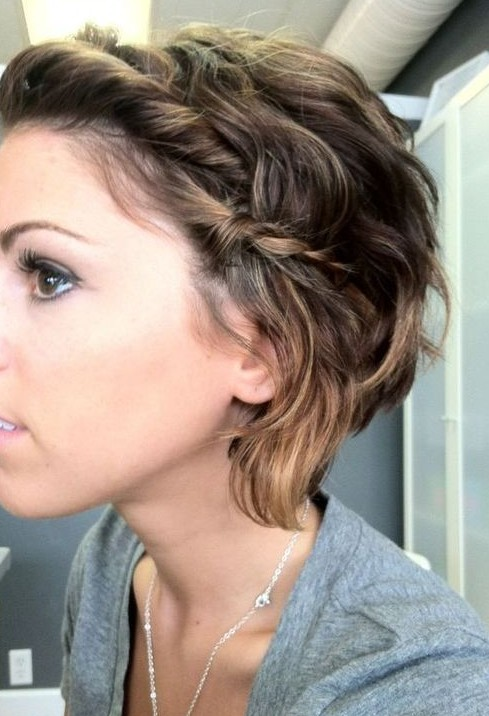 Hairstyles For Short Hair Cute Girl Hairstyles : Cute Updo for Short Hair - Cute Short Hairstyles for Girls - Pretty ...