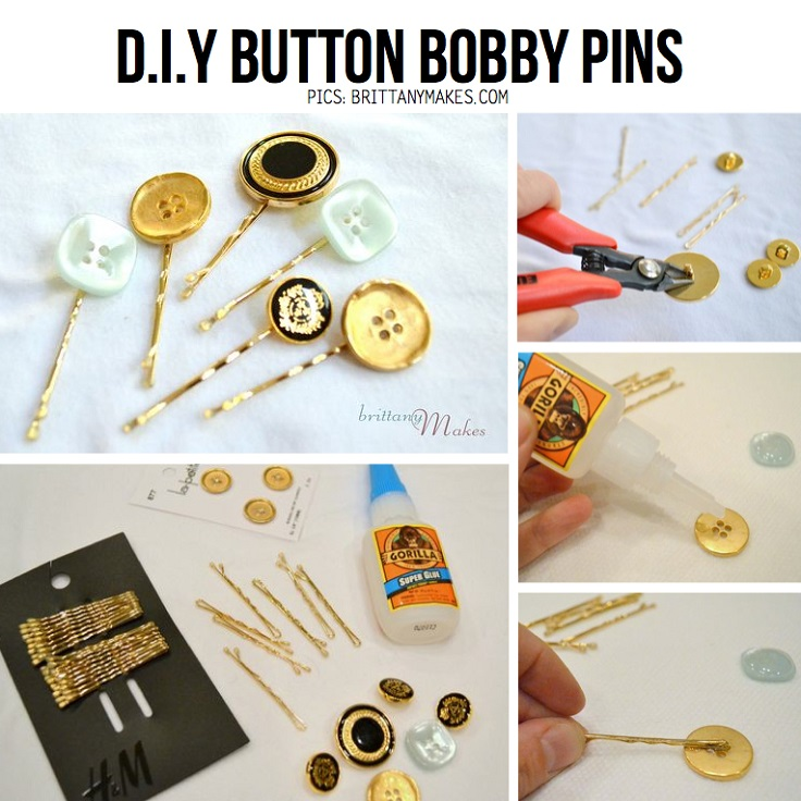 Easy Diy Projects With Bobby Pins