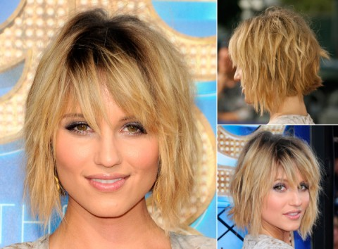 Dianna-Agron's short hairstyles