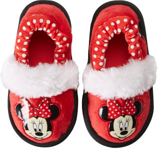 Disney 1MNF226 Minnie Mouse Slipper