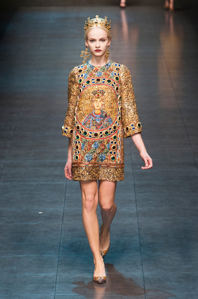 Dolce+Gabbana+Fall+2013 at Milan Fashion Week