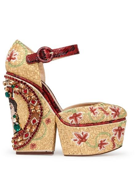 Dolce & Gabbana Platform Shoes