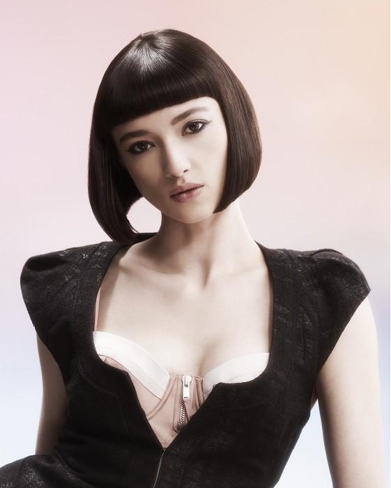 Electric-Medium-brown-straight-hairstyles