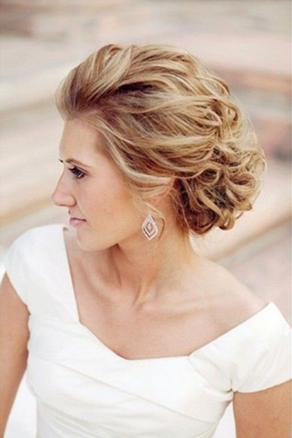 Elegant Wedding Updo Hairstyle