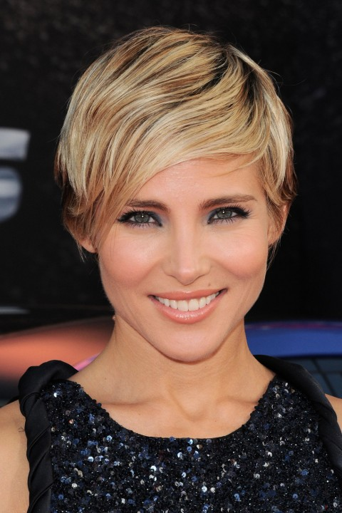 Elsa Pataky's short hairstyles