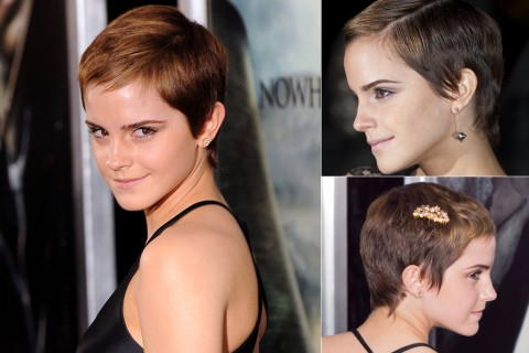 Emma Watson's Short-Hairstyles