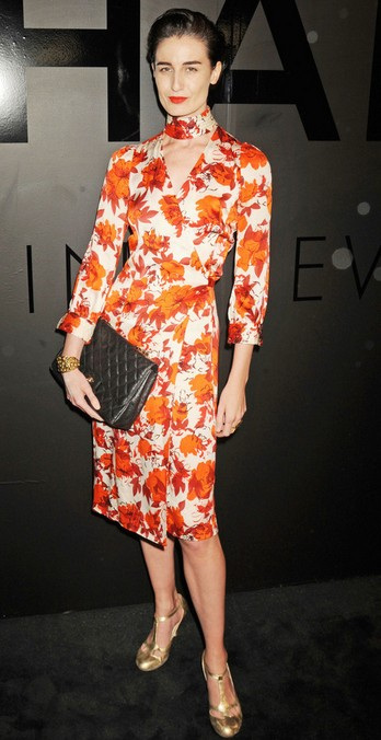 Erin O'Connor's Evening Pumps