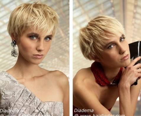 Fashionable Short Haircut