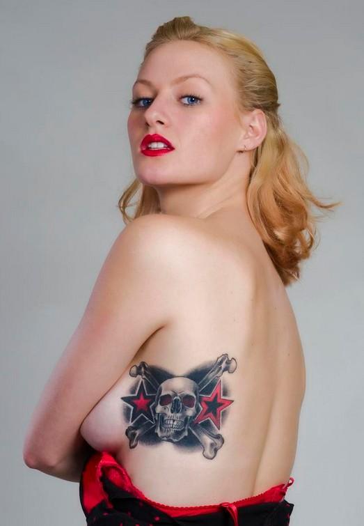 Female Skull Tattoos
