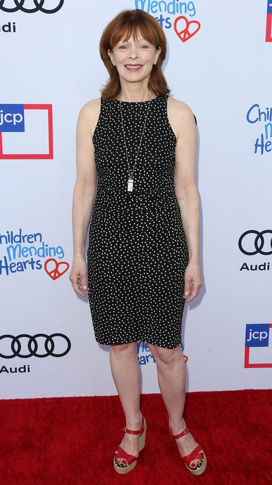 Frances Fisher in Wedges