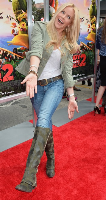 Gena Lee Nolin's Knee High Boots