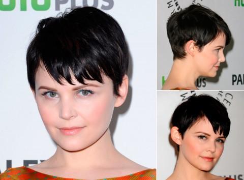 Ginnifer Goodwin's short-hairstyles