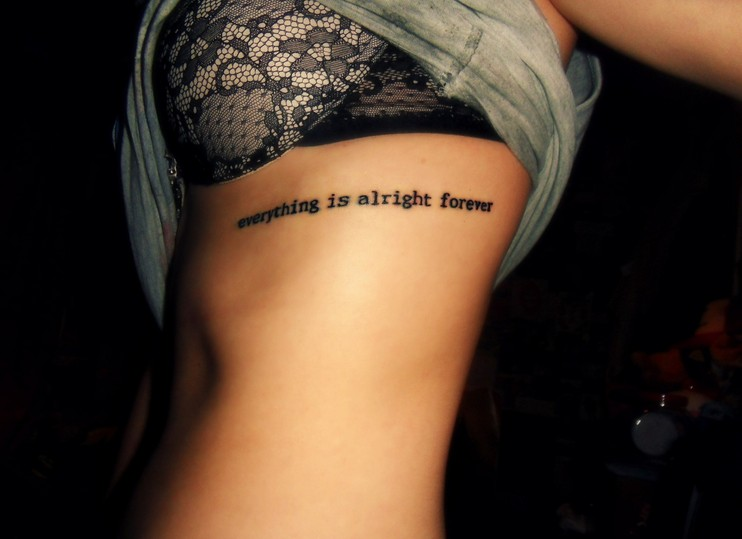Pros & Cons to Getting Rib Tattoos - Pretty Designs