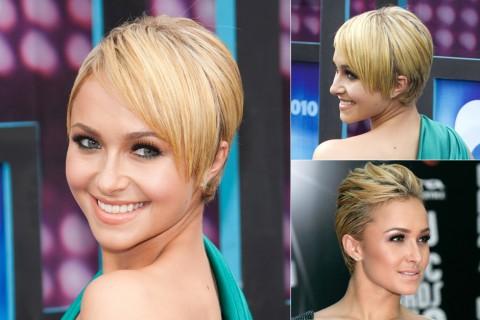 Hayden Panettiere's Short Hairstyles