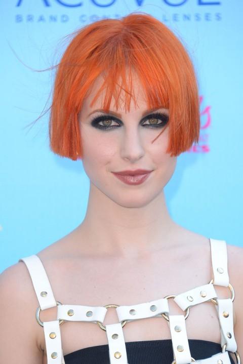 Hayley-Williams' short hairstyles
