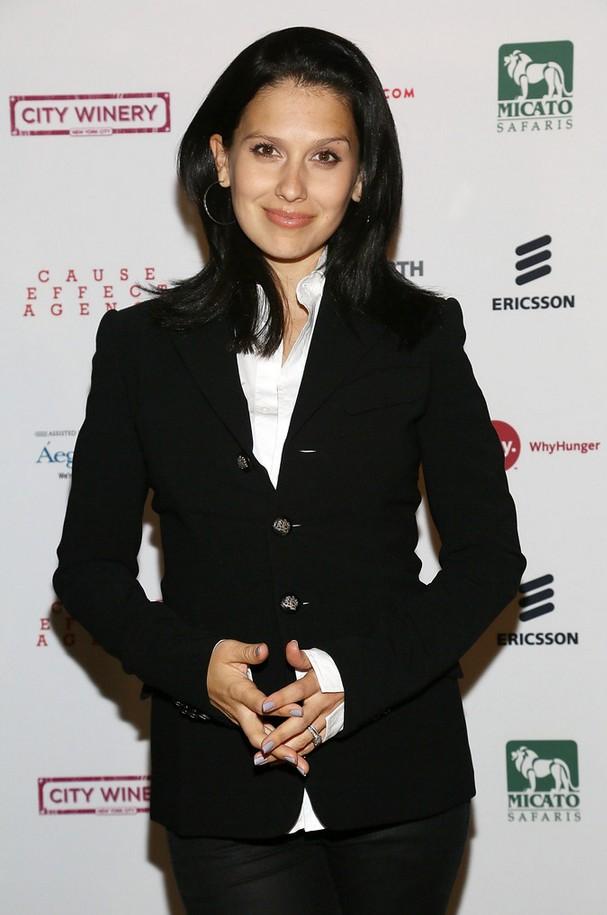 Hilaria Baldwin Fitted Black Jacket