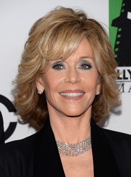 Jane Fonda Short Hairstyle – 2015 Short Haircut for Women Over 60
