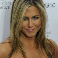 Jennifer Aniston Long Hair style: 2014 Straight Layered Haircut