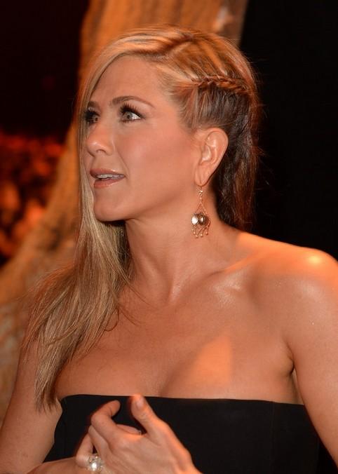 Jennifer Aniston Long Hairstyle: Braided Haircut