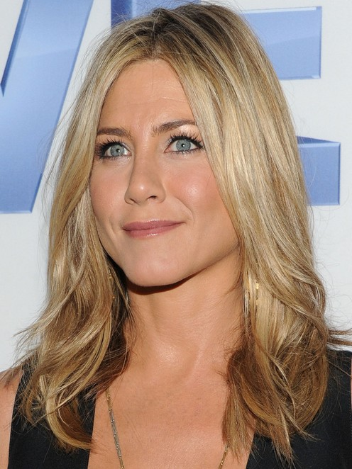 Jennifer Aniston Long Hairstyle: Curly Ends