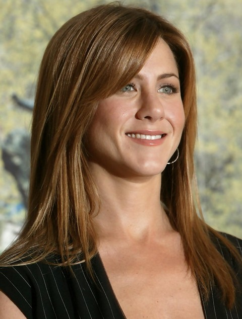 Jennifer Aniston Long Hairstyle Straight Hair Women