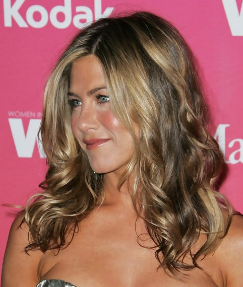 Jennifer Aniston Long Hairstyle Wavy Hair Pretty Designs