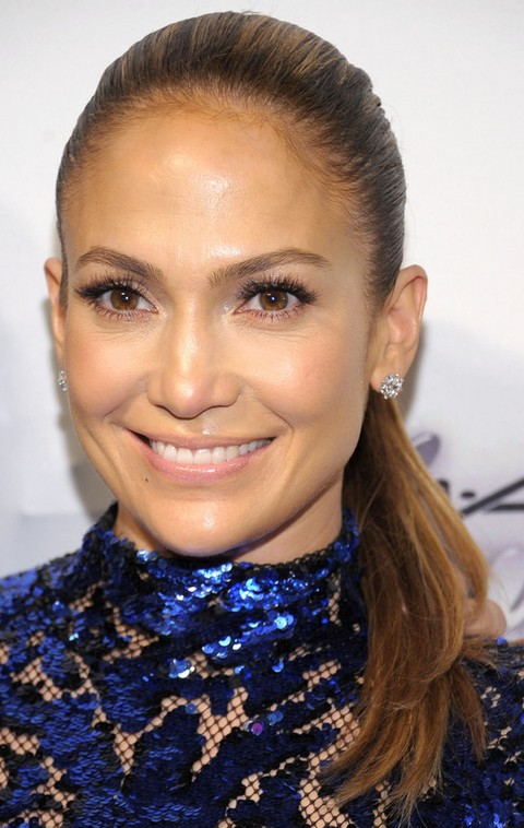 Jennifer Lopez Hairstyles: Cheerful Ponytail for Women