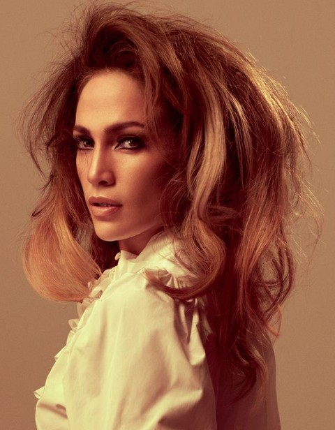 Jennifer Lopez Hairstyles: Edgy-chic Shaggy Hairstyle for Party