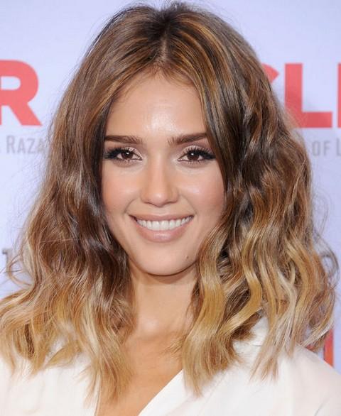 Jessica Alba Bob Haircut 2015