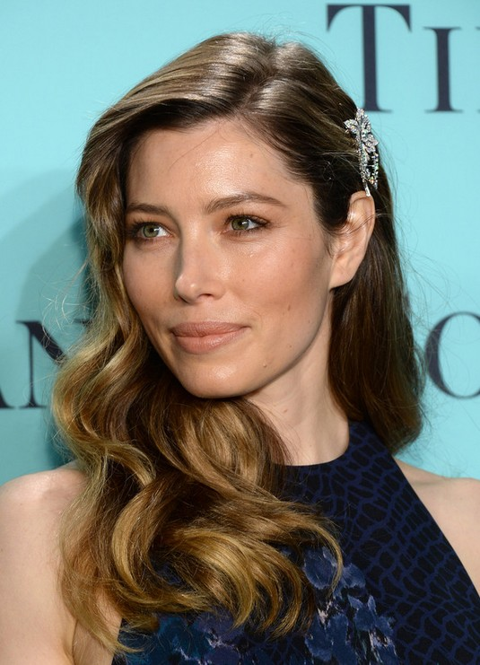 Jessica Biel Long Hair style: 2014 Curly Blonde Hair