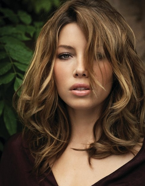 Shoulder Length Hairstyles For Dark Brown Hair : 22 jessica biel hairstyles pretty designs