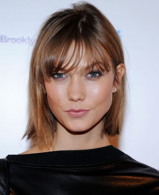Super Karlie Kloss39 Short Hair Styles Blunt Bob For Straight Hair Short Hairstyles Gunalazisus