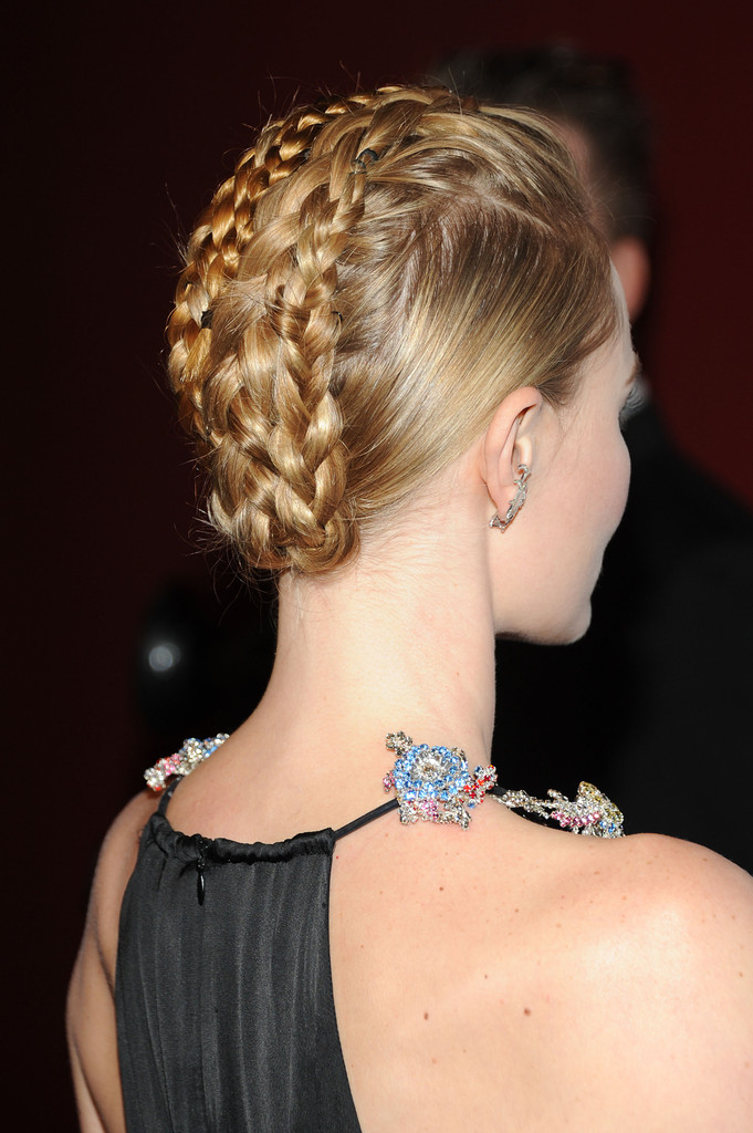 Kate Bosworth's Braided Fauxhawk