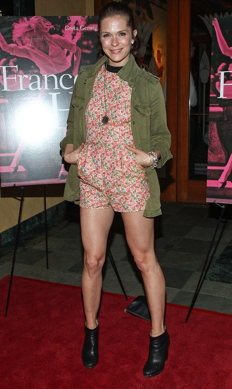 Katie Aselton in Ankle boots